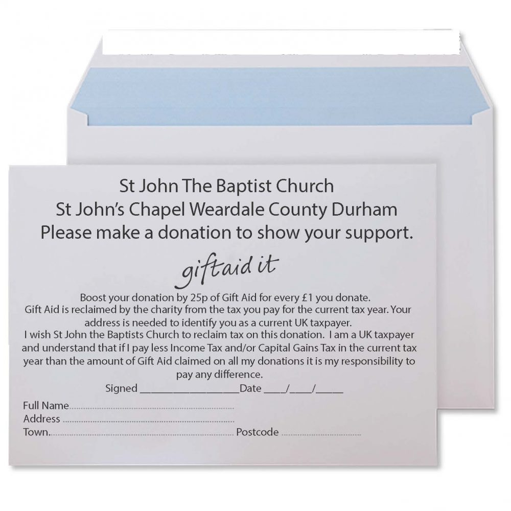 Gift aid envelope printing effective mailing solutions gift aid envelope printing 8 negle Images